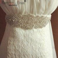 Wedding Dress Accessories Belt Bridal Sashes Crystal Rhinestone Belts For Wedding Dresses Vestido Festa Longo Noite