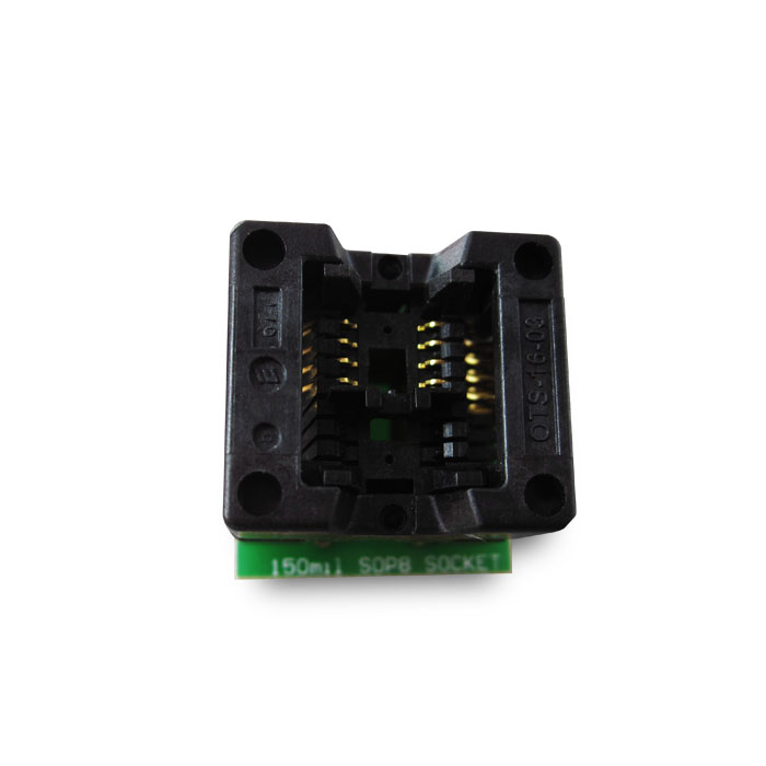 SOIC SOP8 to DIP8 Programmer Adapter Socket Wide 200mil 208mil Gold-Plated
