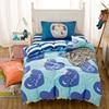 New 3pcs Bedding Set For Kids Cotton Duvet Cover Sheet Pillowcase Cartoon Printed Comfortable School Back