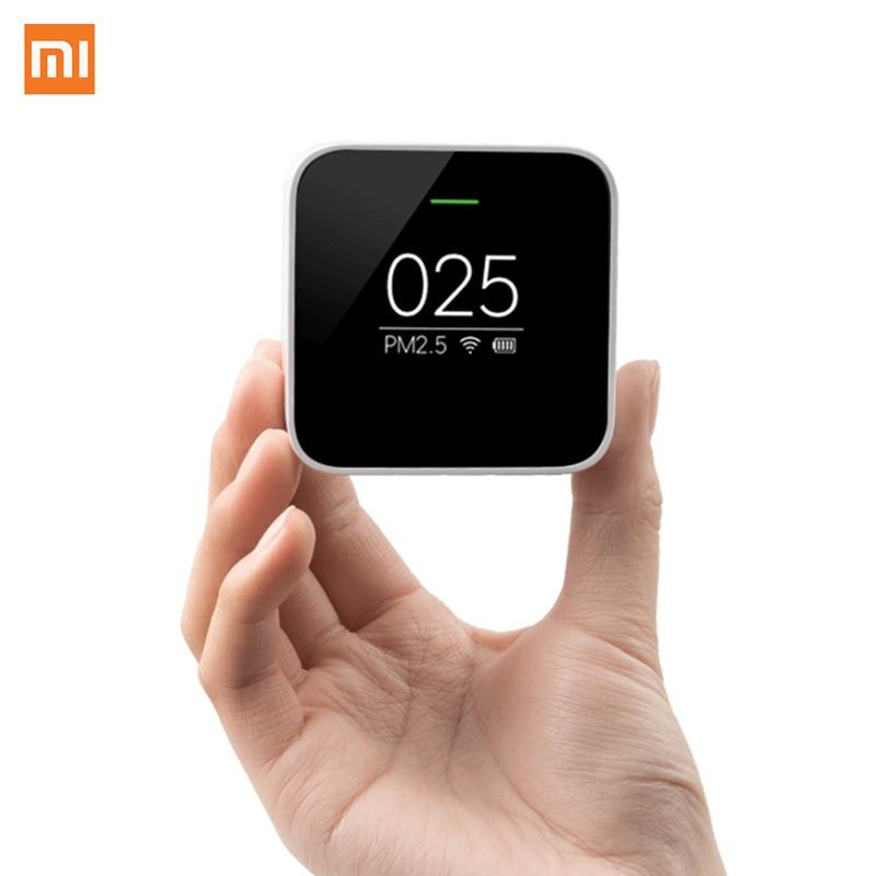 imágenes para Más nuevo Xiaomi Dióxido de Azufre Óxido de Nitrógeno Sencon Uso Detector Con Compañero de Monitoreo de Calidad Del Aire Purificador de Aire PM2.5