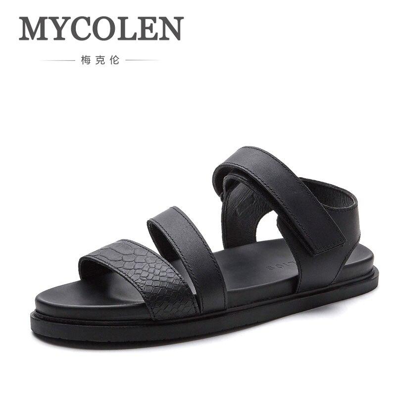 MYCOLEN sandalias de confort hombres verano Zapatos de marca de alta calidad playa hombres sandalias hombres zapatos casuales moda sandalias al aire libre zapatillas