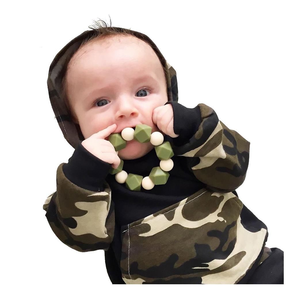 KEOL Best Sale Newborn Kids Baby Boys Camo Tops Hoodie Long Pants 2Pcs Outfits Set Clothes, Camouflage 70 Size