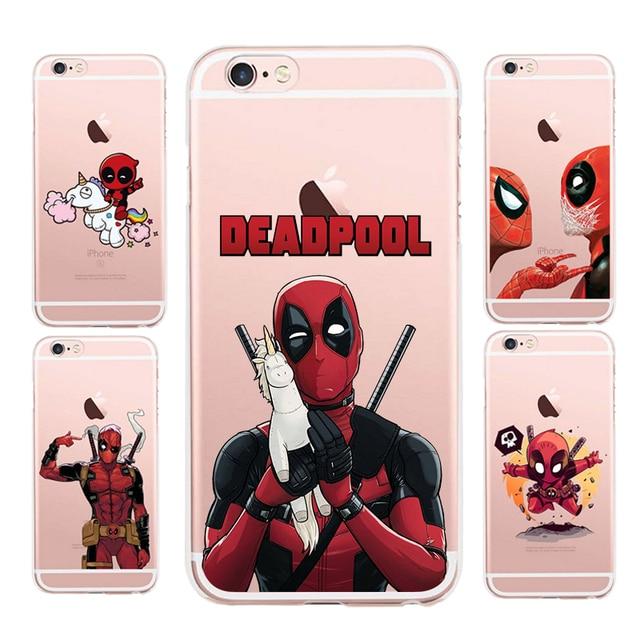 carcasas iphone 6 deadpool