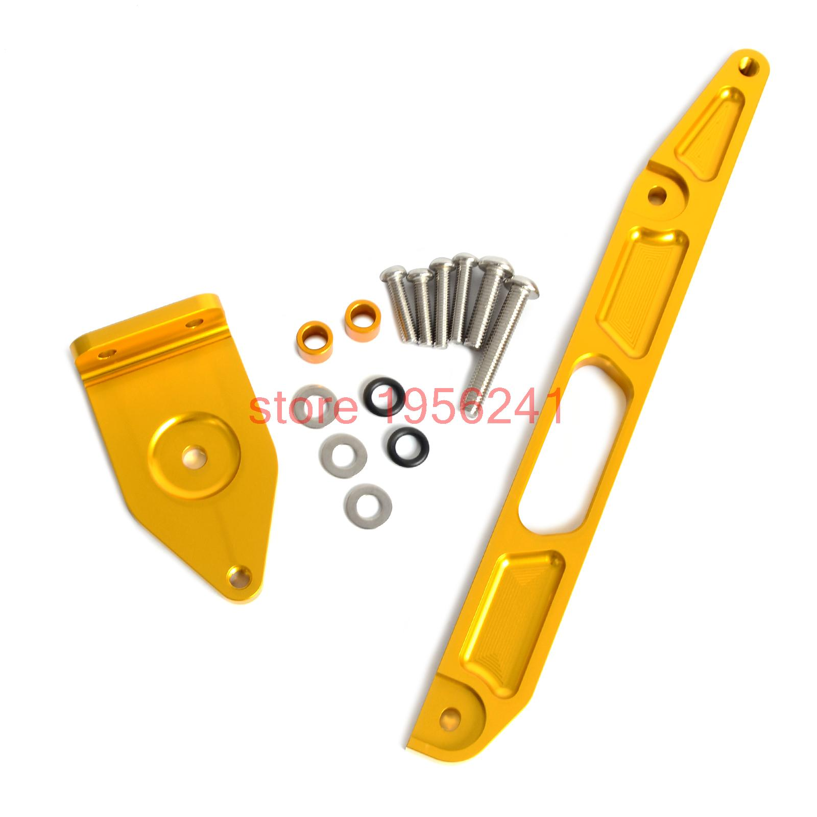 Gold CNC Mounting Kit Bracket for Yamaha XJR1300 2002 - 2015 2004 2005 2006 2008 2010 2013 2014 и другие кузнецова людмила викторовна бунимович евгений абрамович математика 6 кл арифметика геометрия тетрадь тренажер бунимович е а