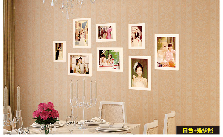 2016 good wood wall frames per picture frame ideas 8 pcs - Picture frame ideas on wall ...