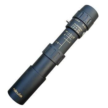 Nikula10-30x25 monoculaire zoom telescoop verrekijker hoge kwaliteit nachtzicht verrekijkers HD Pocket