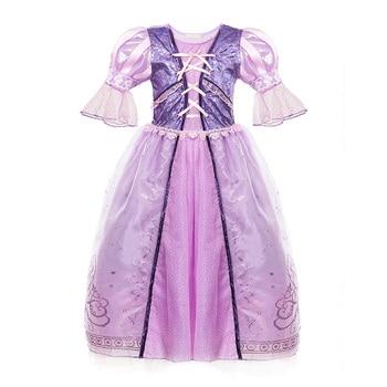 Girl Disney Princess Cosplay Costumes Dress Children Halloween Cosplay Dress 3