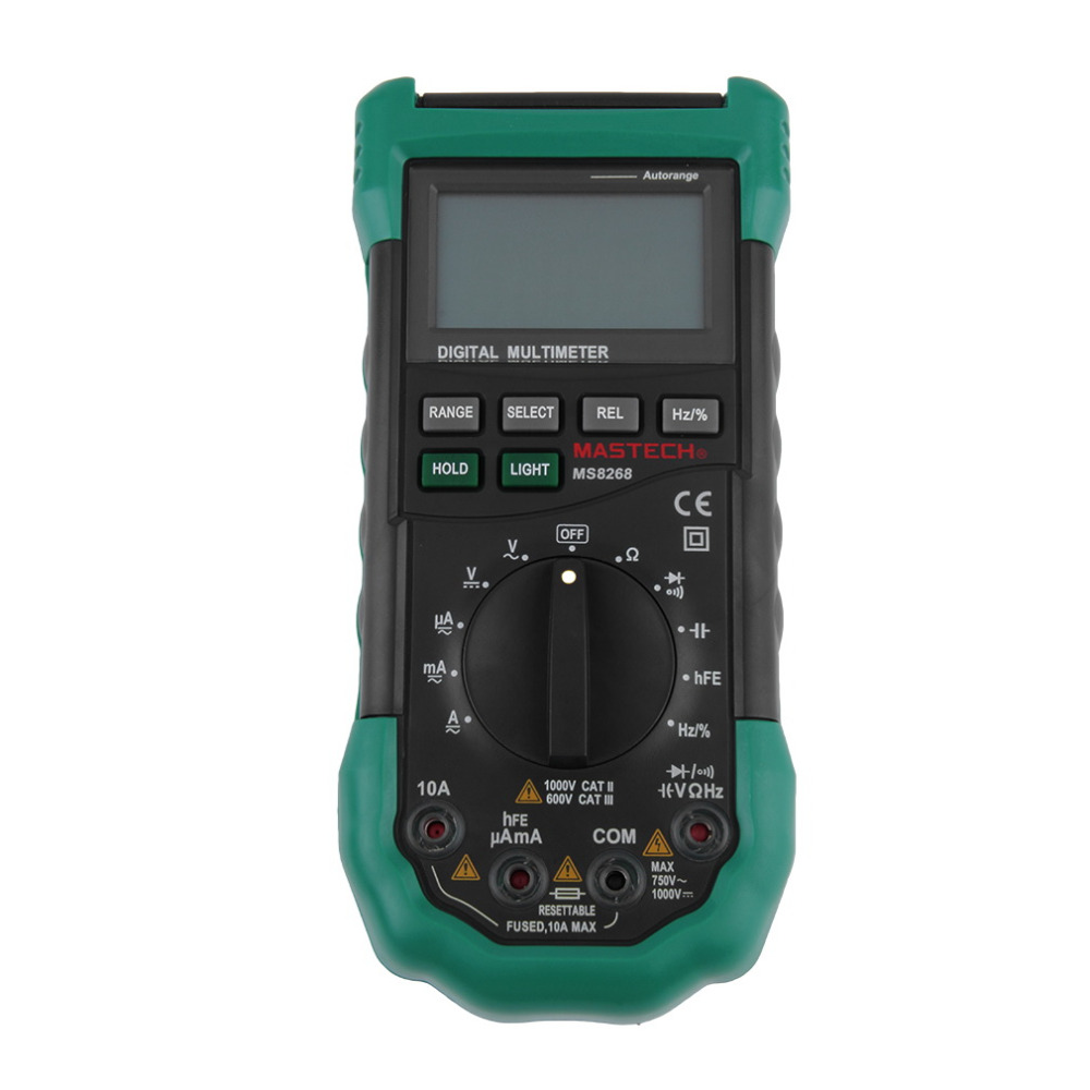 Handheld Multimeter Tester 2.7 Diodes Electrical LCD Display & Backlight New hot ut118b mini multimeter excellent pen measuring electrical induction genuine universal backlight