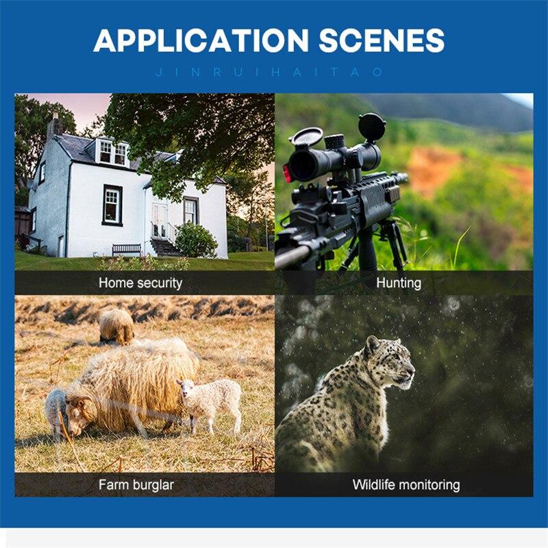 Image 5 - Новейшая охотничья камера gps Беспроводная 4G LTE дистанционное управление приложение охота на Камо камера для съемки диких животных дикой природы фото ловушка скауты HC 801A-in Камеры для охоты from Спорт и развлечения