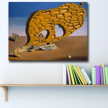 Salvador-dali-Surrealism is the mystery of desire Canvas Painting For Living Room Home Decor Oil Painting On Canvas Wall Art 1