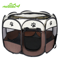 House For Dog Pet Playpen Folding Puppy Kennel Cage Cat Bed Tent Nest Doghouse Outdoor Casa Perro Fence Small Dogs Cats Products