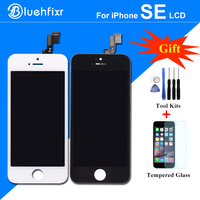 100 A Quality LCD Assembly For IPhone SE LCD Display With Touch Screen Digitizer Repair Tools