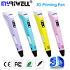 1 75mm ABS PLA DIY 3D Printing Pen LED LCD Screen 3D Pen Painting Pen Filament