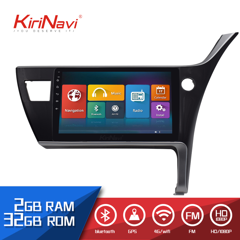 Kirinavi Car Radio 10.1 Touch screen 2 Din auto android for Toyota Coroall 2016 dvd audio multimedia Navigation player radioKirinavi Car Radio 10.1 Touch screen 2 Din auto android for Toyota Coroall 2016 dvd audio multimedia Navigation player radio