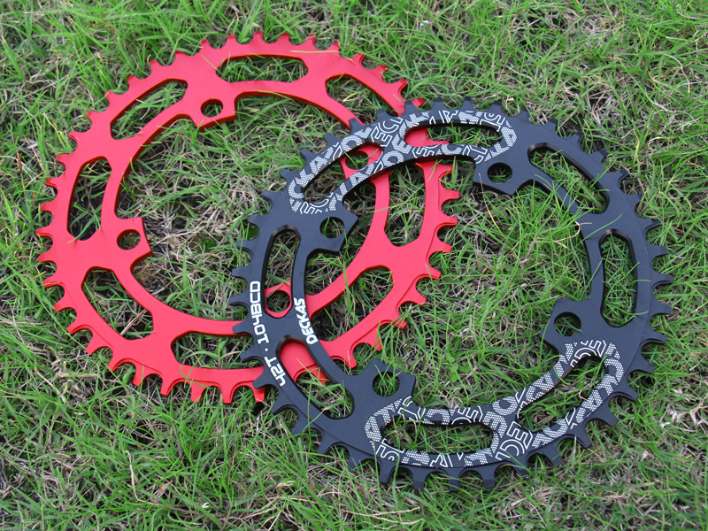 DECKAS 32-38t 104mm Narrow Wide Cycling MTB Bike Crank Crankset Chainring Guard