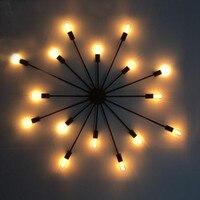 Retro industry wall lamp hanging dual purpose Restaurant Bar bedroom long Personality retro shape wall Lights