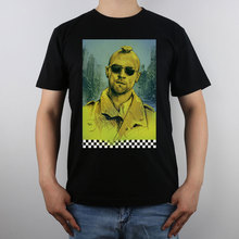 taxi driver T-shirt Top Pure Cotton Men T shirt New Design High Quality