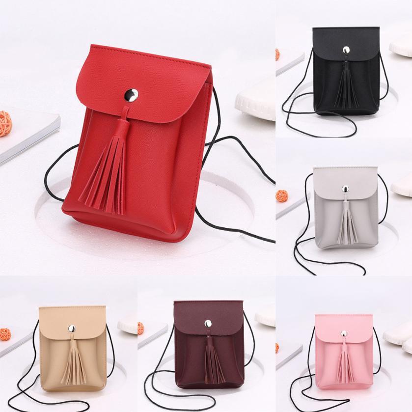 Molave Shoulder Bag new high quality Leather Fashion Tassels Crossbody Phone Coin Bag Flap shoulder bag women FEB28