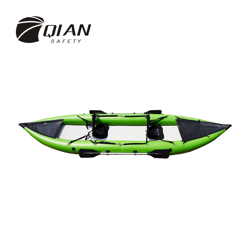Qian seguridad profesional barco inflable 2 personas 3 aire PVC ...