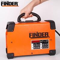 Finder 220 В портативный сварочный аппарат поток жильного провода автоматической подачи постоянного тока сварочный аппарат