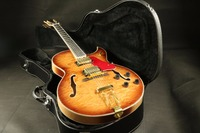 Quality quilted maple top flamed back thick hollow body es jazz 355 electric guitar free shipping