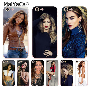 MaiYaCa Jennifer Lopez USA POP Star Sexy Colorful Phone Accessories Case for iPhone 8 7 6 6S Plus X 5 5S SE 11pro case Cover image