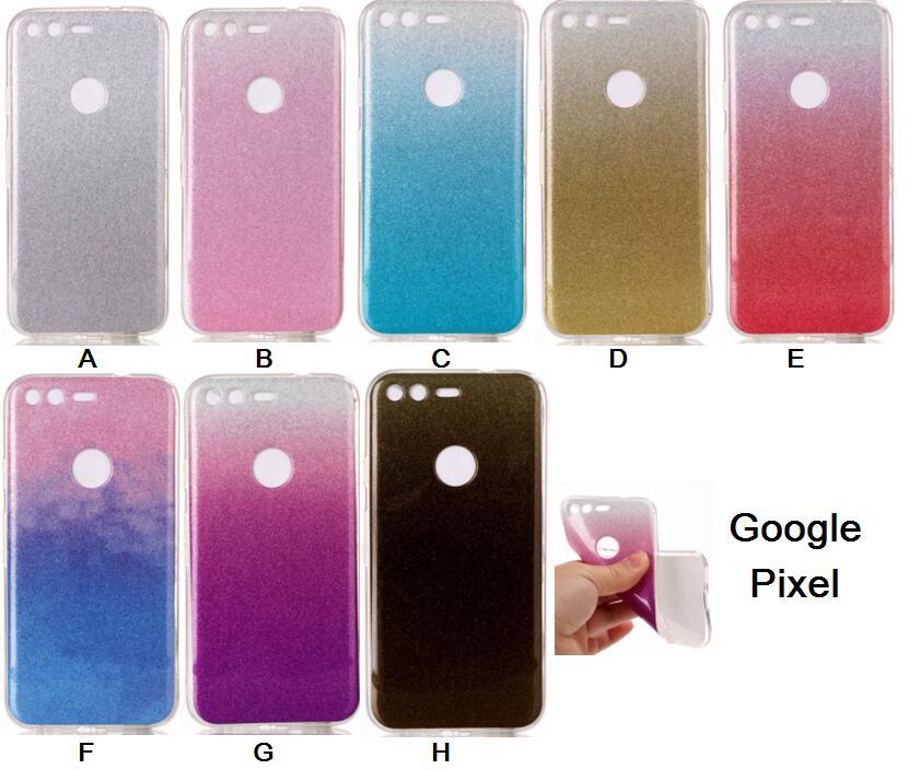 Luxury Case For Google Pixel Nexus S1 TPU Case For Google Pixel Nexus S1 Flash Powder Mobile Phone Bag