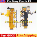 For Sony Xperia Z1 L39h C6902 C6903 C6906 C6943 Replacement parts Volume Key+Power on/off button+Microphone Flex Cable