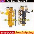 Para sony xperia z1 l39h c6902 c6903 c6906 c6943 reemplazo de piezas tecla de volumen + tecla de encendido/apagado + micrófono flex cable