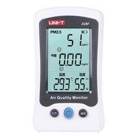 UNI T A25F Desktop Formaldehyde & PM2.5 Detector Air Quality Meter Temperature Humidity for Indoor Environmental