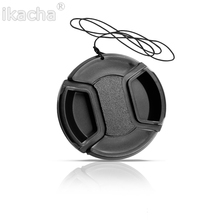 Бесплатный 58 58 мм Snap-On Объектив Передняя Крышка Держатель для Canon Nikon Sony 58 мм Альфа цифровой DSLR Крышки Объектива хранитель