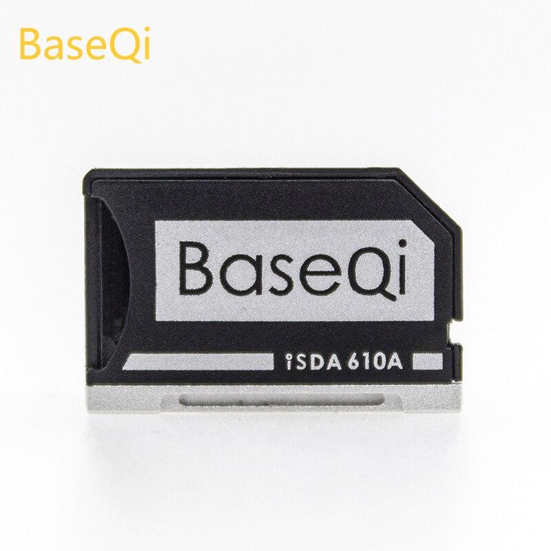 D'origine BaseQi Aluminium NinjaDrive Micro SD/TF Carte Adaptateur Pour Asus UX31A et Asus ZenBook Flip ux360CA