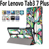 For Lenovo Tab3 7 Plus Case PU Leather Slim Tablet Protector Cases For Lenovo Tab 3
