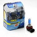 Tirol t19978b novo 2 pcs h11 12 v 100 w lâmpada halógena lâmpada do farol super branco 5000 k lâmpada do farol fonte de luz do carro