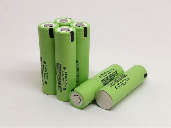 6pcs/lot New Original Battery For Panasonic CGR18650CG 18650 3.7V 2250mAh Rechargeable Lithium Batteries (CGR18650CG)