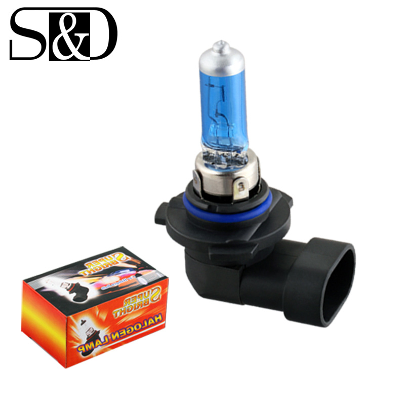 S&D HB3 Car Headlight Halogen Bulb Fog Light Auto Lamp 5000K H8H3 H1 H7 H4 H11 HB4 9005 9006 880 881 White 12V 24V 55W 100W