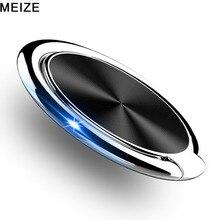Роскошный металлический держатель для мобильного телефона Универсальный 360 градусов вращающийся палец кольцо держатель магнитный автомобильный кронштейн Стенд аксессуары для телефона