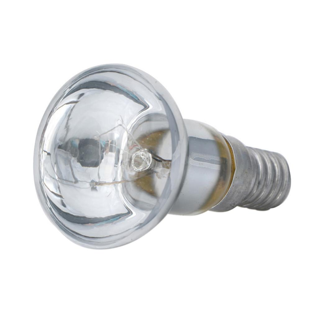 Edison Bulb E14 Light Holder R39 Reflector Spot Light Bulb Lava Lamp Incandescent Filament Lamp