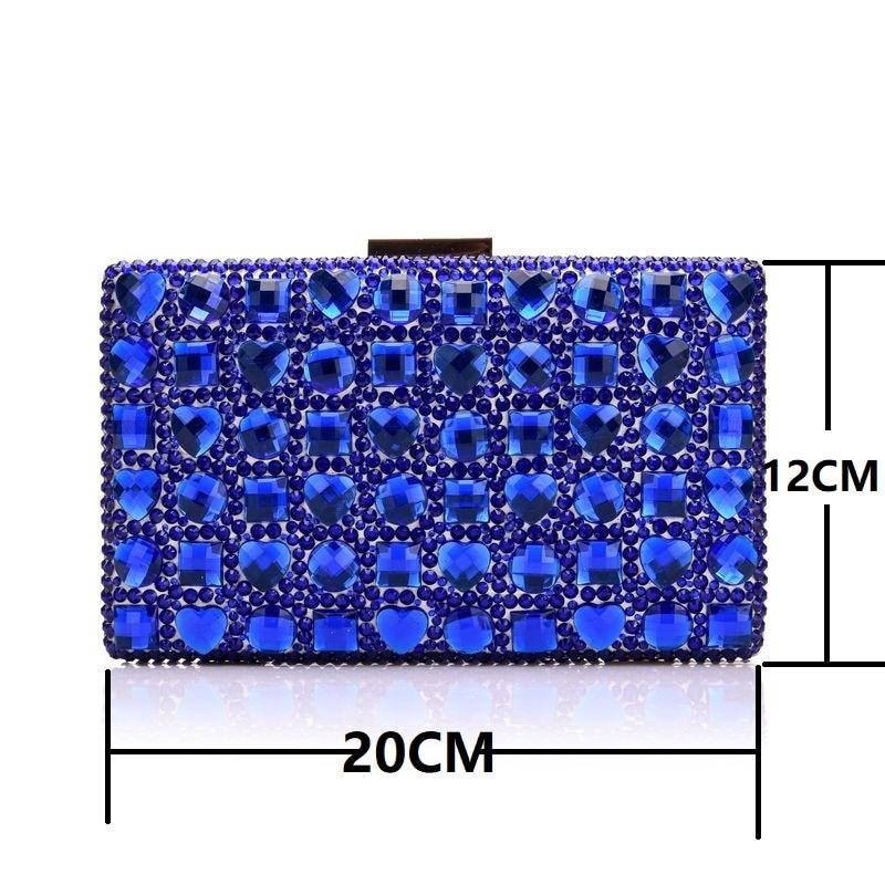 Sacs Sandales Femmes Bleu Bourse Talons Payty De Les Mariée Chaussures Reine À Assortis Mariage Robe Avec Cristal Hauts Blue gTq0pw1