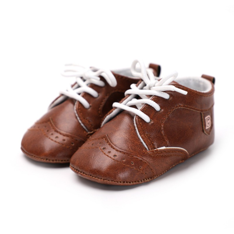 Moccasins Baby Infant Anti-slip PU Leather First Walker Infant Toddler Soft Soled Newborn 0-1 years shoes For Kids