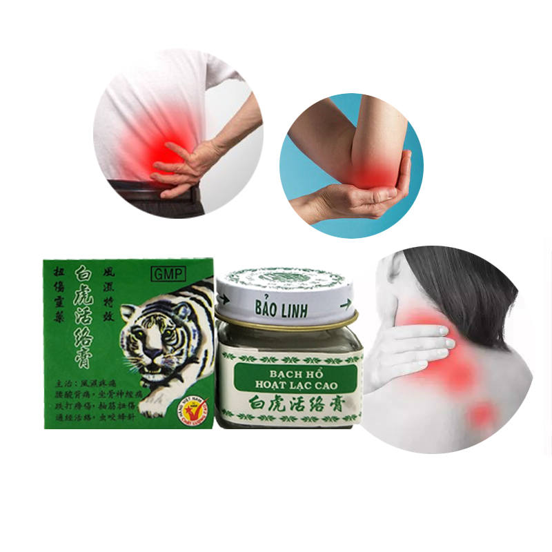 20g Original White Vietnam Tiger Balm Oil Natural Herb White Tiger Transdermic Anelgesic Cream for Headache(China)