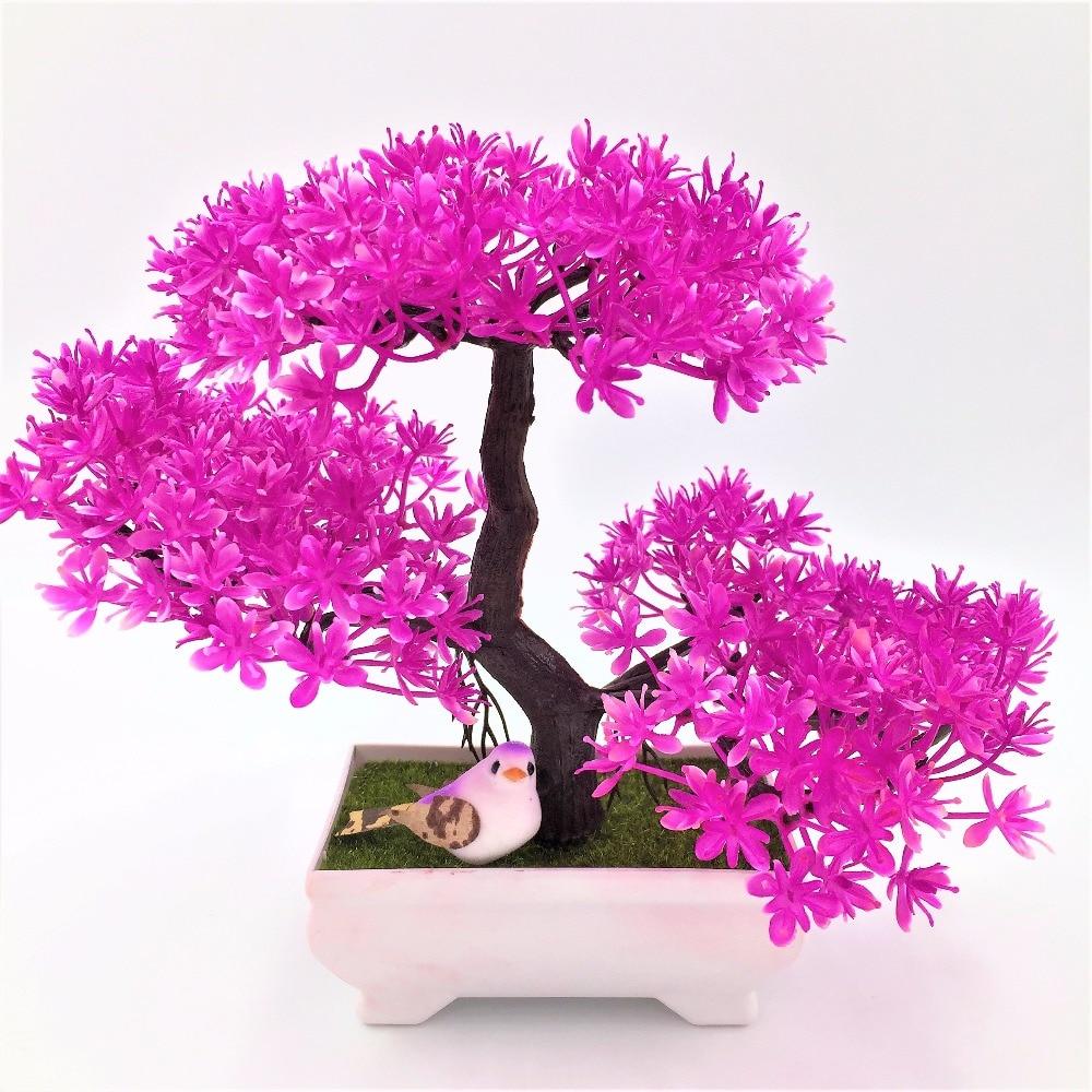 2017 Real New Decoration 5bundle Artificial Treewedding Clover ...