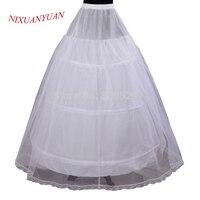 Низкая цена Лидер продаж 2 слоя 3 Хооп эластичный пояс свадебное платье шнурок платье юбка нижняя кринолин свадебное платье