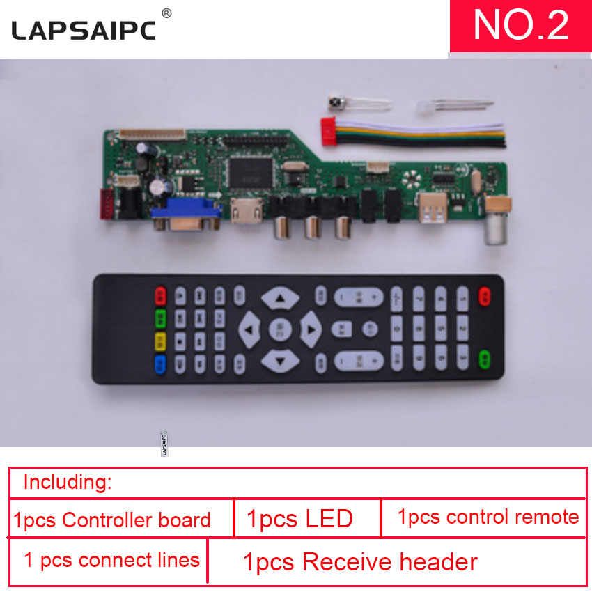 Lapsaipc SKR.03 8501 العالمي المراقب مجلس lcd لوحة الشاشة 1920x1080 محرك تحكم بقيادة lvd مجلس استبدال v29 v59 v56