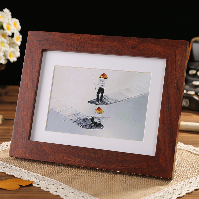Buy Red Sandalwood Solid Wood Frame 1 Pc Photo Frame Picture Frames Christmas