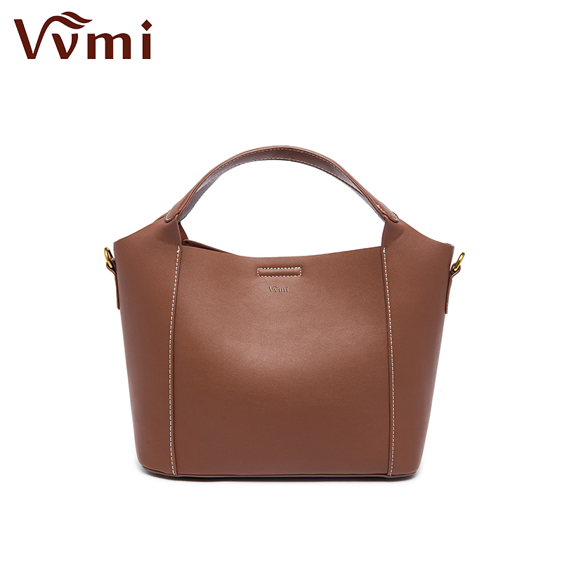 Vvmi bolsos women bag chic vintage classic handbag simple portable totes single shoulder bags for female Messenger Bag