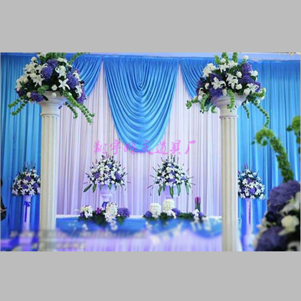 Compare prices on stage curtain background online for Background curtain decoration