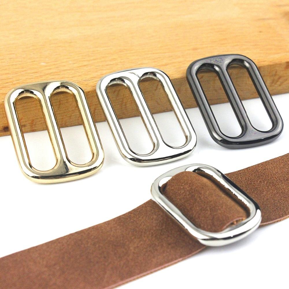 Apparel Sewing & Fabric Lovely 10 Pcs Metal Tri Glide Slide Buckles Center Bar Adjuster Buckle For Leather Craft Bag Strap Belt Webbing 25/32/38mm Home & Garden