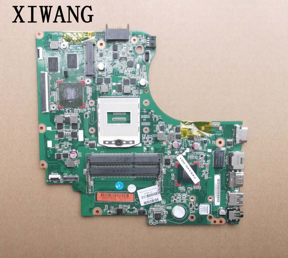 755185-501 Free shipping ! 100% tested 755185-001 board for HP 14 14-d101TX 14-d series laptop motherboard