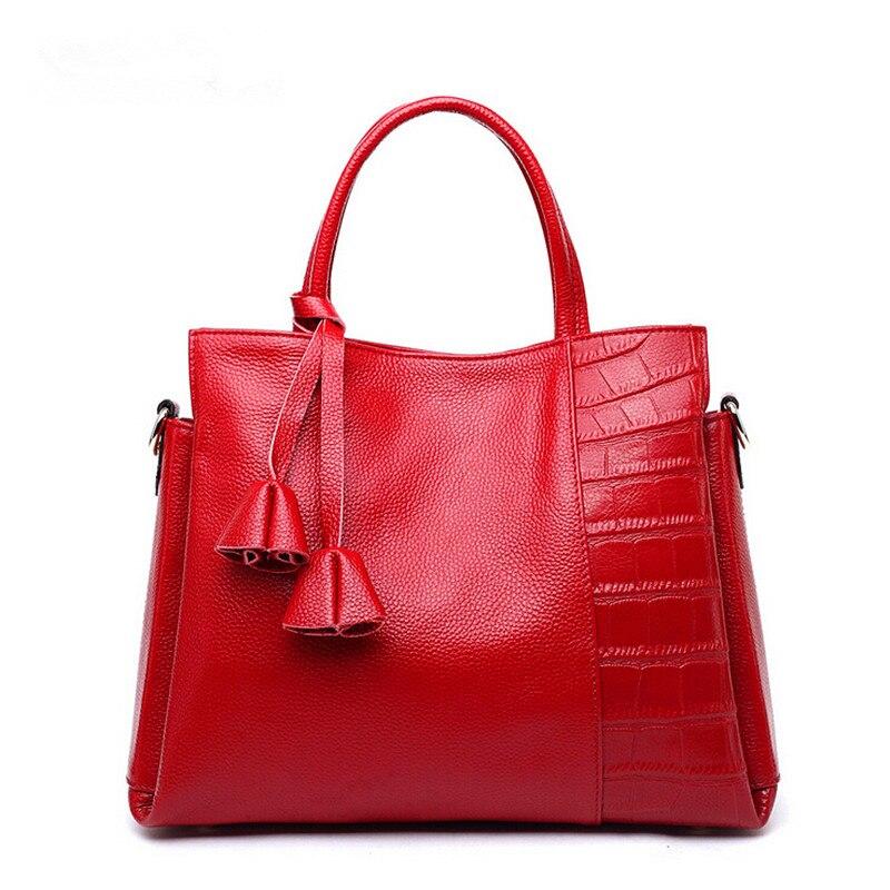 Women brand tote bag fashion 2017 luxury handbags women Tassel shoulder bags women genuine leather handbags lady messenger bags серьги butler and wilson